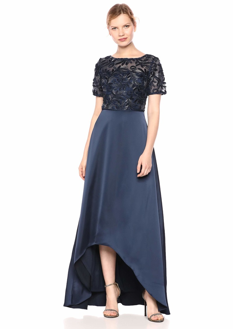 Adrianna Papell Women's Soutache Long Dress