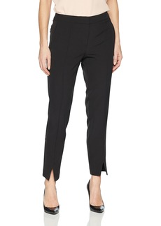 Adrianna Papell Women's Split Front Bottom Bi Stretch Pant