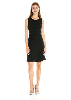Adrianna Papell Women's Starbust Tucked Fit and Flare