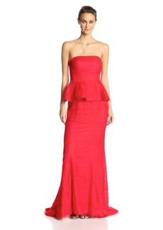 Adrianna Papell Women's Strapless Evening Gown