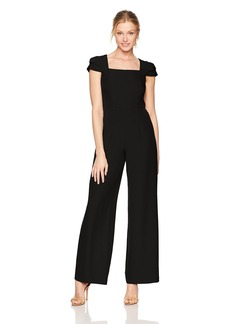 Adrianna Papell Women's Stretch Crepe Jumpsuit
