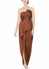 Adrianna Papell Women's Stretch Lame Gown