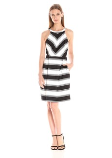 Adrianna Papell Women's Stripe Dress