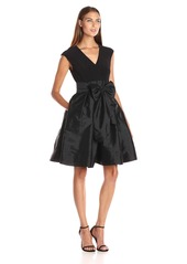 Adrianna Papell Women's Taffeta Fit and Flare
