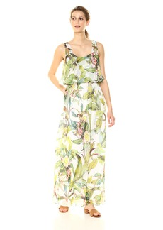 Adrianna Papell Women's Tahitian Tropical Maxi Dress