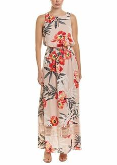 Adrianna Papell Women's Tropical Breeze Maxi Dress GEERANIUM Multi