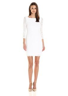 Adrianna Papell Women's Women's Lace Sheath Dress
