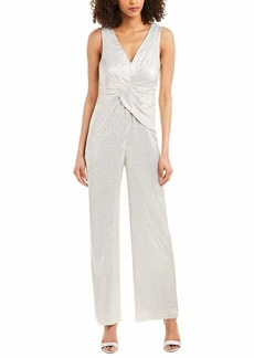 Adrianna Papell Women's Wrapped Knit Jumpsuit