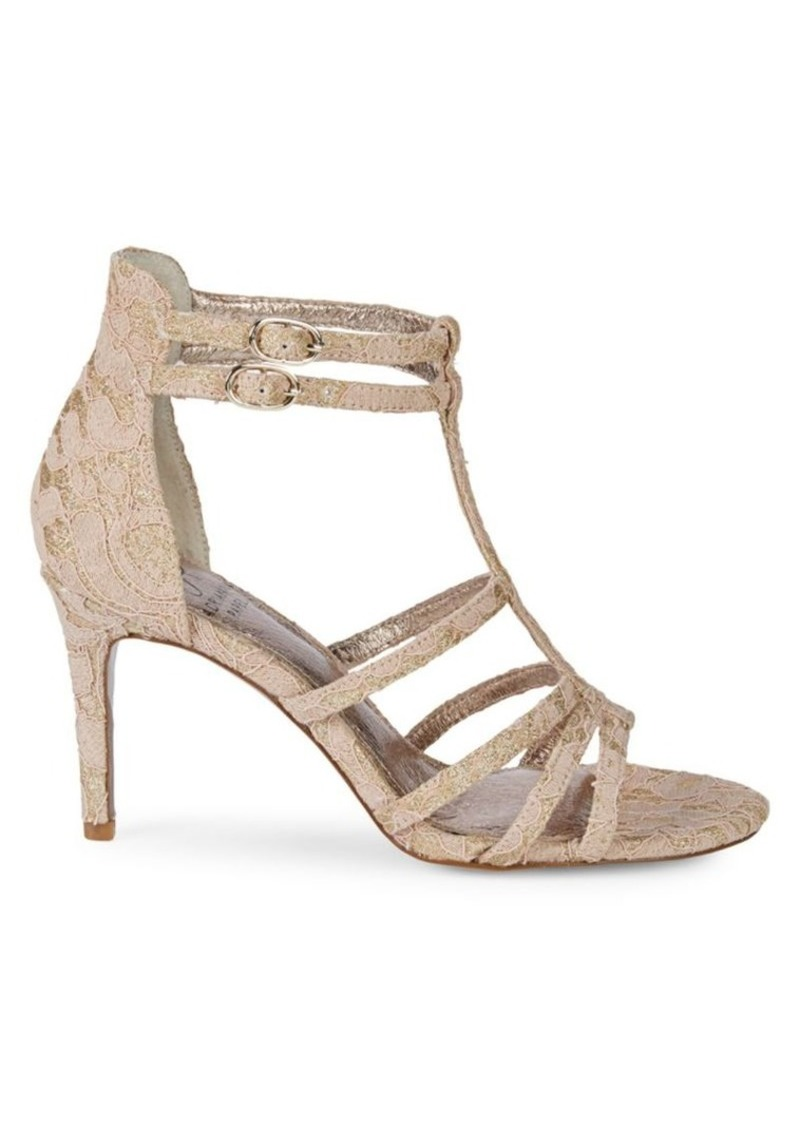Adrianna Papell Ari Floral Lace Sandals