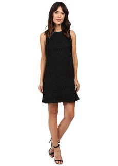 Adrianna Papell Chemical Lace Trapeze Dress