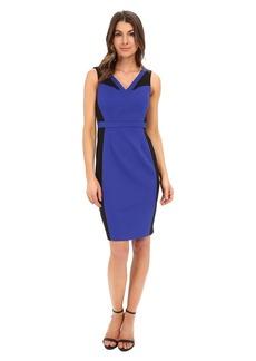 Adrianna Papell Color Block Bodycon Sheath Dress
