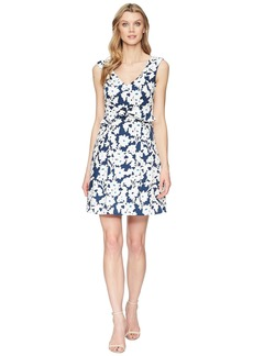 Adrianna Papell Daisy Field Fit and Flare Dress