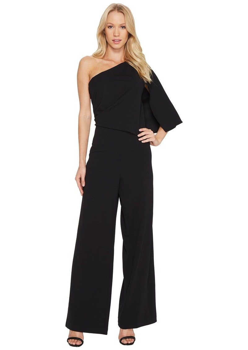 00dadd9a452 Adrianna Papell Knit Crepe One-Shoulder Jumpsuit