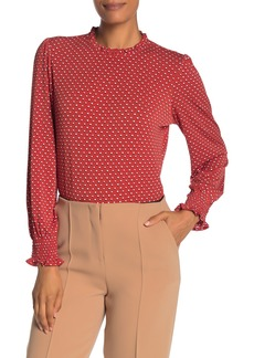 Adrianna Papell Long Sleeve Knit Top