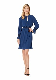 Adrianna Papell Pebble Stretch Chiffon Boho Dress