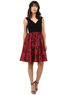Adrianna Papell Portrait Bodice Fit and Flare