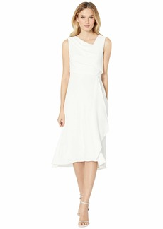 Adrianna Papell Soft Draped A-Line Dress