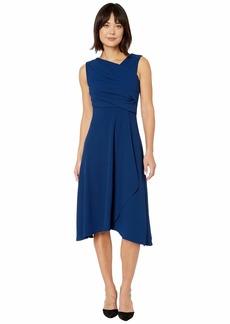 Adrianna Papell Soft Draped A-Line Dress
