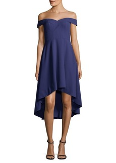 Adrianna Papell Sweetheart Hi-Lo Cocktail Dress
