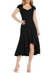 Women's Adrianna Papell Divine Crepe Midi Cocktail Dress