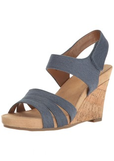 Aerosoles A2 Women's Plush Day Wedge Sandal