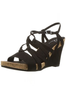Aerosoles A2 Women's Poppy Plush Wedge Sandal