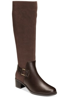 Aerosoles After Hours Adjustable-Calf Tall Boots Women's Shoes