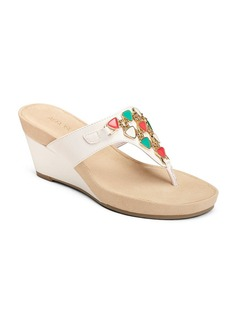 "Aerosoles® ""Air Light"" Wedge Slide Sandals"