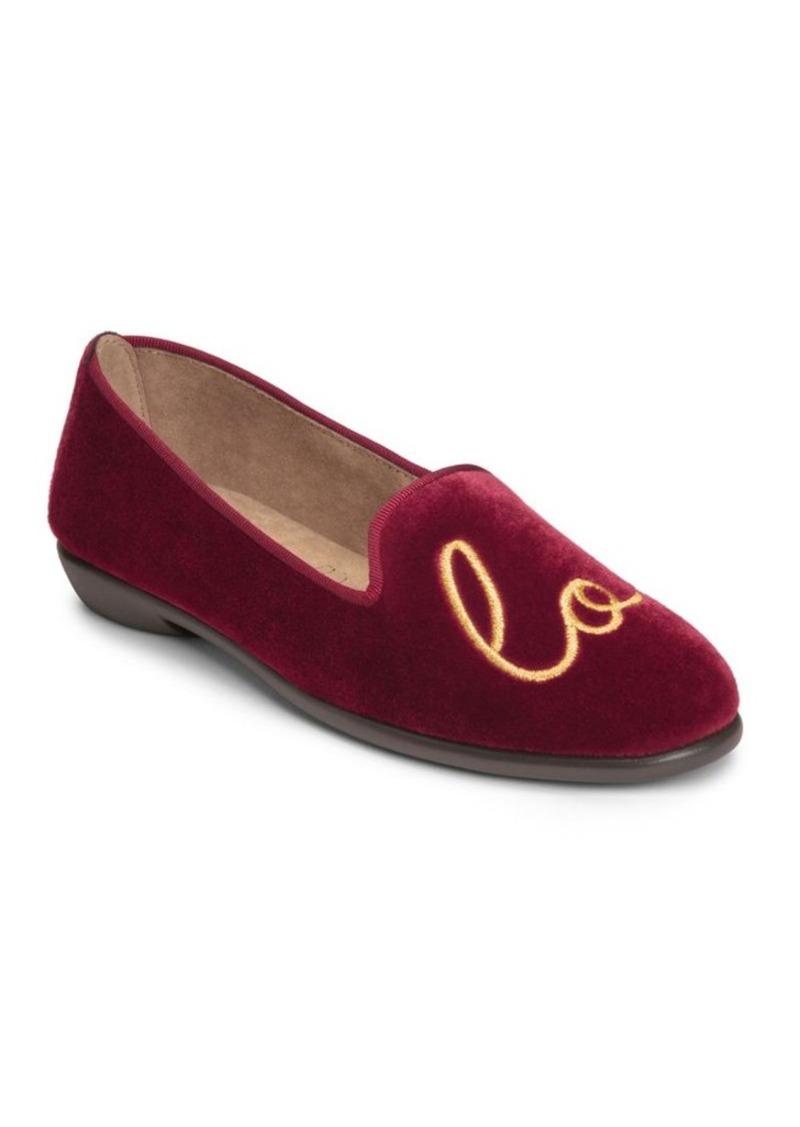 dcdd06830c4 On Sale today! Aerosoles Aerosoles Betunia Novelty Velvet Loafer