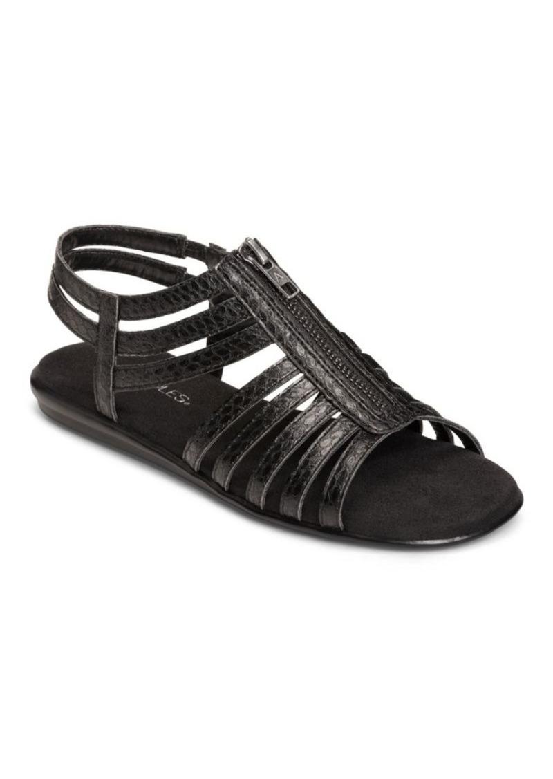a796cdd846b48a Aerosoles Aerosoles Clothesline Faux Leather Gladiator Sandals