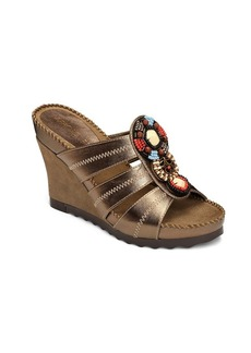 "Aerosoles® ""Cobblestone"" Wedge Slide Sandals"