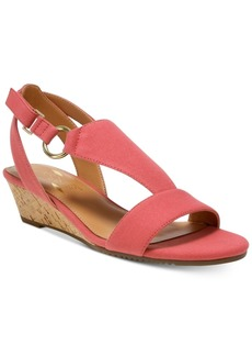 Aerosoles Creme Brulee Wedge Sandals Women's Shoes