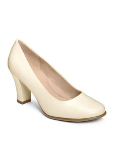 Aerosoles Dolled Up Leather Pumps