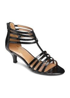 Aerosoles Limeade T-Strap Kitten Heel Sandals