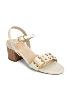 Aerosoles Midtown Woven Textured Ankle-Strap Sandals