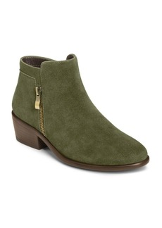 Aerosoles Mythology Suede Moto Ankle Boots