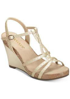 Aerosoles Plush Song Wedge Sandals Women's Shoes