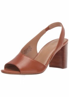 Aerosoles Women UP HIGH Pump DK TAN Leather  M US
