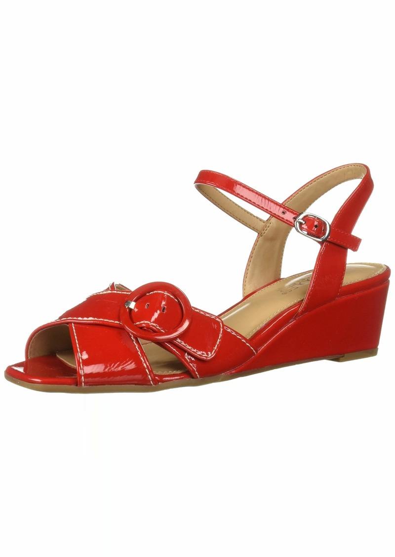 Aerosoles Women's Hornet Sandal RED Patent  M US