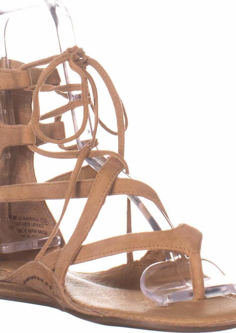 Aerosoles Women's Scrapbook Sandal LT TAN Suede  M US