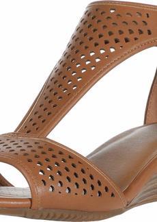 Aerosoles Women's Wedge Sandal TAN