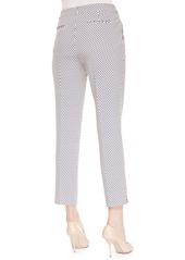 Etro Cravat-Print Cropped Pants
