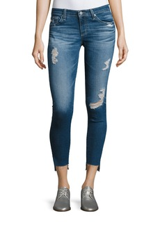 AG 14 Years Radiant Cropped Skinny Jeans with Step Hem