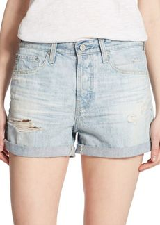 Alex Distressed Shorts