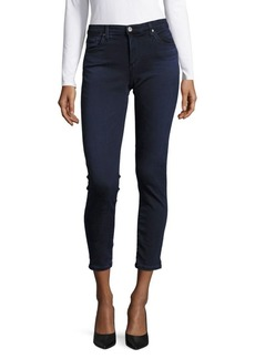 Buttoned Super Skinny Jeans