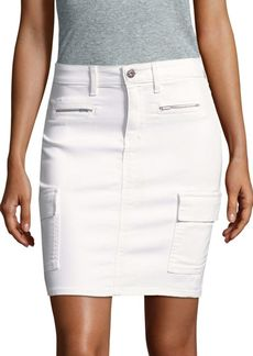 AG Adriano Goldschmied Cargo Pencil Skirt