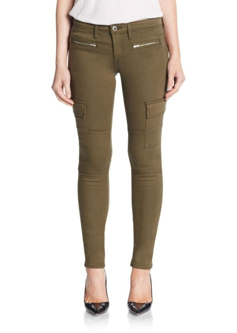 AG Adriano Goldschmied Cargo Skinny Ankle Jeans