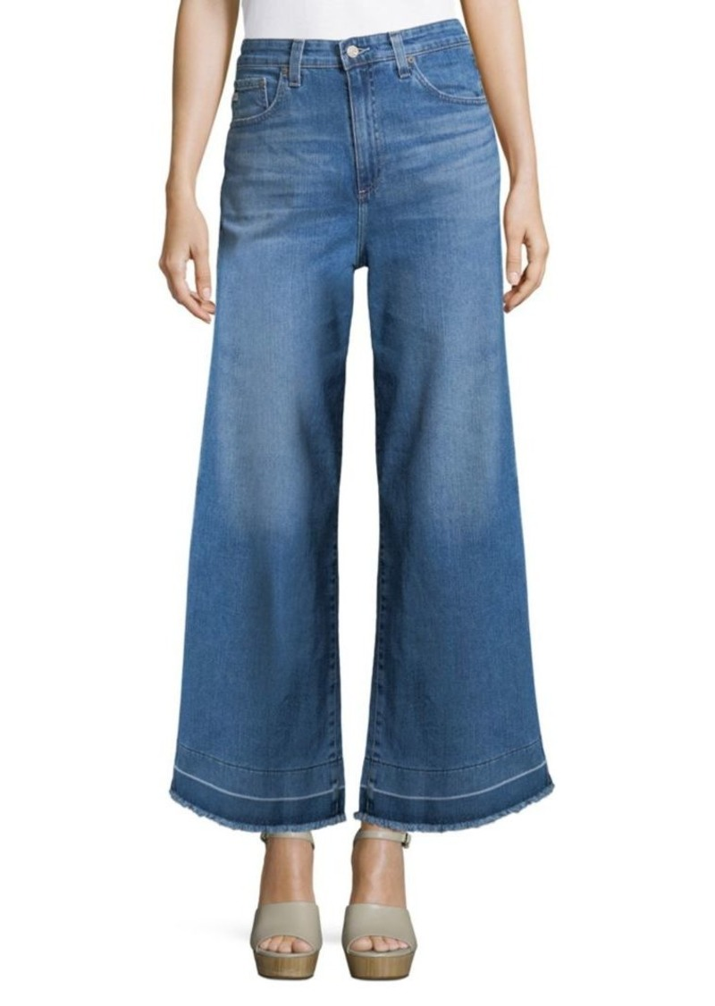 AG Adriano Goldschmied Charlotte Wide-Leg Jeans