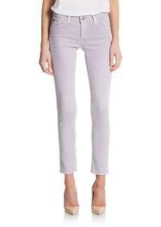 AG Adriano Goldschmied Colored Skinny Ankle Jeans