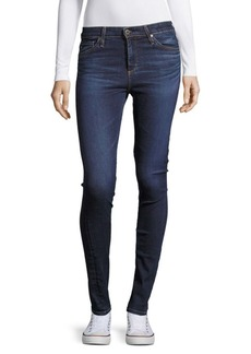 AG Adriano Goldschmied Cotton-Blend Whiskered Denim Jeans